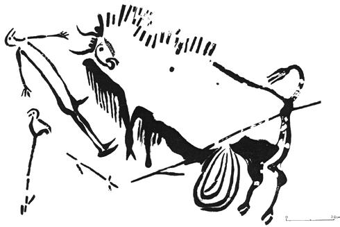 Jean Clottes, Chamanismo en las cuevas paleolíticas, imagen 4