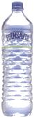 recipiente de plástico para embotellar agua