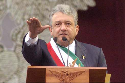 """Andres Manuel López Obrador aka """"El peje"""""""