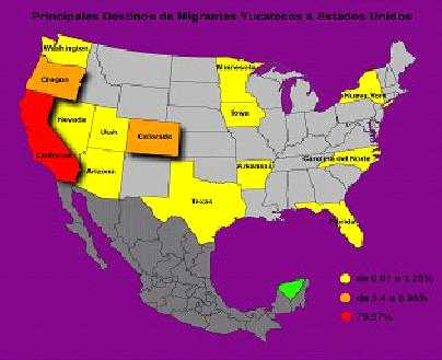 de la migración y políticas públicas en el estado de Yucatán 2005