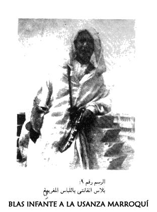 Blas Infante a la usanza marroquí