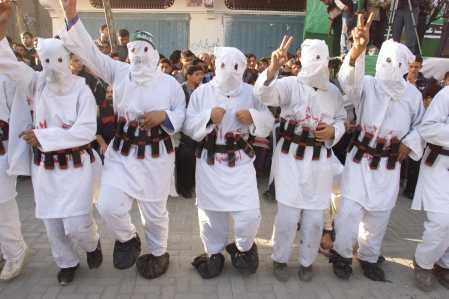 Terroristas mahometanos suicidas de Hamás
