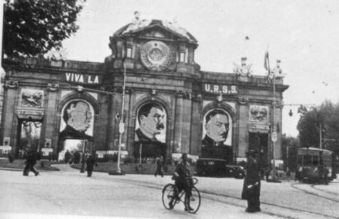 Puerta de Alcalá, Madrid 1937