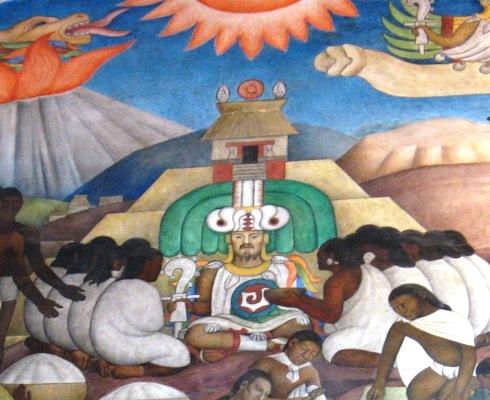 Luis carlos mart n jim nez am rica fen meno y realidad for Mural quetzalcoatl