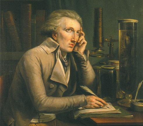 Georges Cuvier, por Mateo Ignacio van Bree (fragmento)