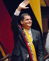 Rafael Correa Delgado, Quito 10 de agosto de 2009