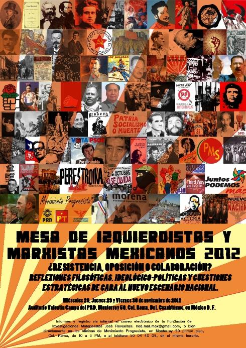 Mesa de izquierdistas y marxistas mexicanos 2012