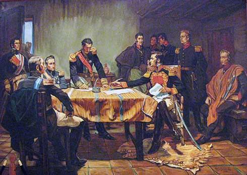 La capitulación de Ayacucho